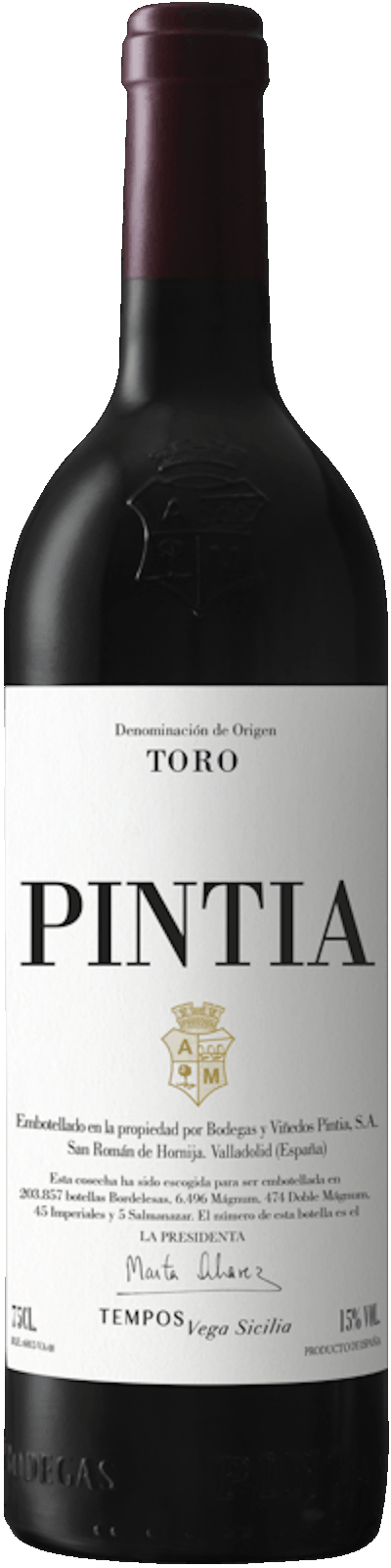 Bodeags Pintia - Pintia Toro DO
