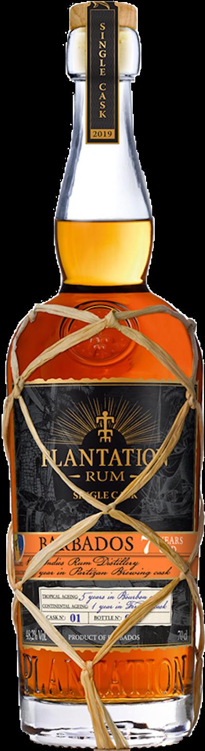 Plantation - Rarität Barbados 7years Single Cask Rum 2019