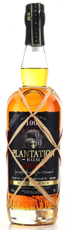 Plantation - Rarität Guyana 1990 Old Reserve Single Cask Rum