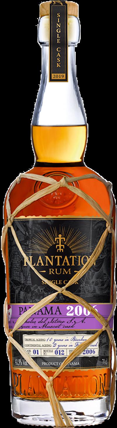 Plantation - Rarität Panama 2006 Single Cask Rum 2019