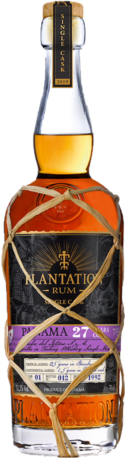 Plantation - Rarität Panama 27years Single Cask Rum 2019