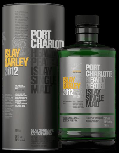 Bruichladdich - Port Charlotte Islay Barley Islay Single Malt Scotch Whisky im Geschenkkarton