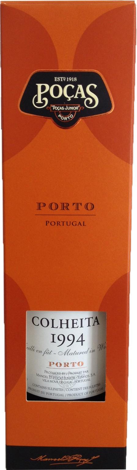 Poças Colheita Port 20° - , 1992