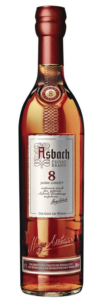 Asbach - 8 Jahre Privatbrand Weinbrand im Geschenkkarton