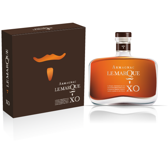 Lemarque Armagnac XO.40°Decanter i.GK. -