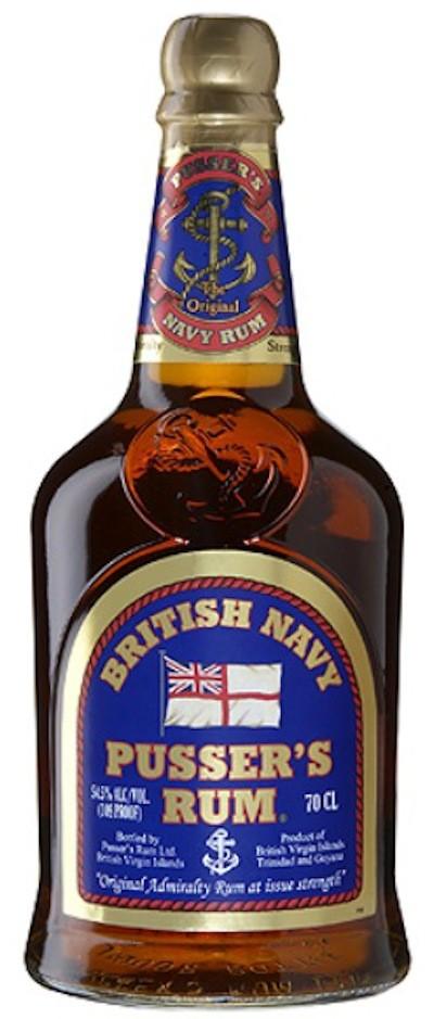 Pusser's - Navy Rum Blue Label