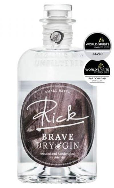 Rick Gin - Brave Dry Gin bio