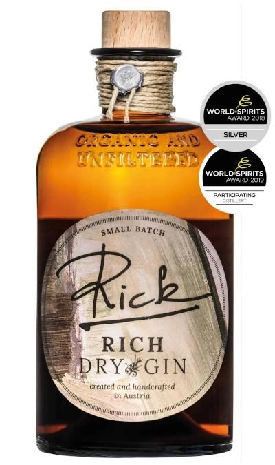 Rick Gin - Rich Dry Gin bio