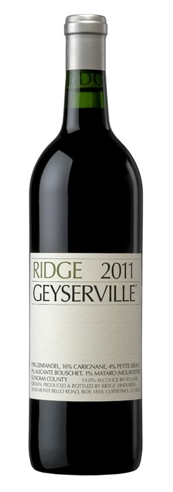 Ridge Vineyards - Geyserville Zinfandel, 2011