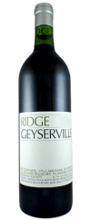 Ridge Vineyards - Geyserville Zinfandel, 2008