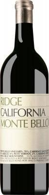 Ridge Vineyards - Monte Bello Cabernet Sauvignon, 2000