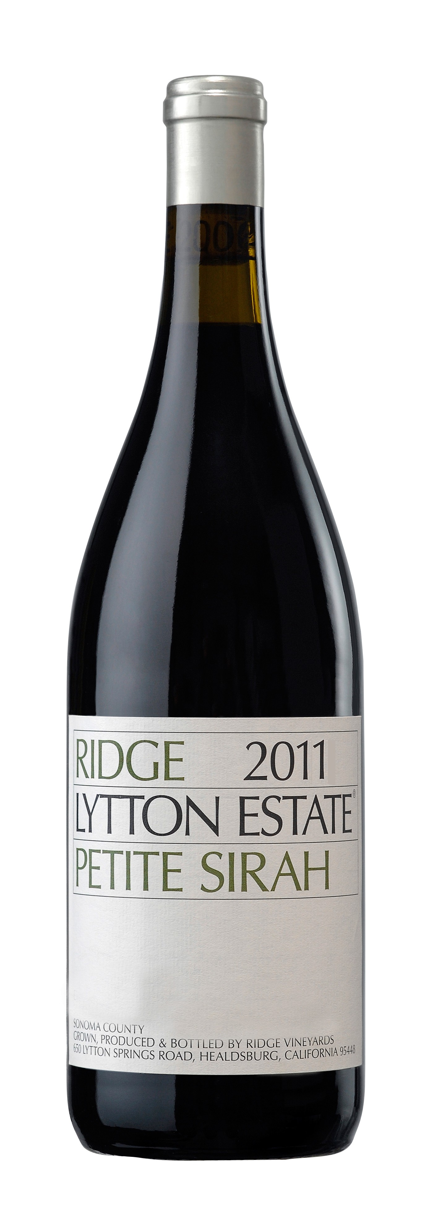 Ridge Vineyards - Petite Syrah Lytton Estate, 2016