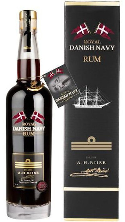 A.H. Riise - Royal Danish Navy Strength Rum