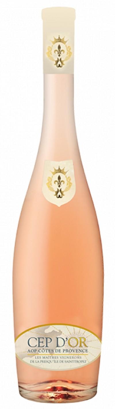 Les - MAÎTRES VIGNERONS Rosé de Saint Tropez Cep d´Or, 2019
