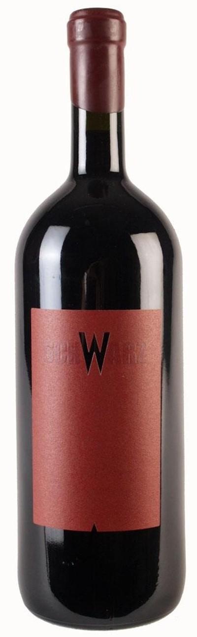 Schwarz - Rot Halbflasche