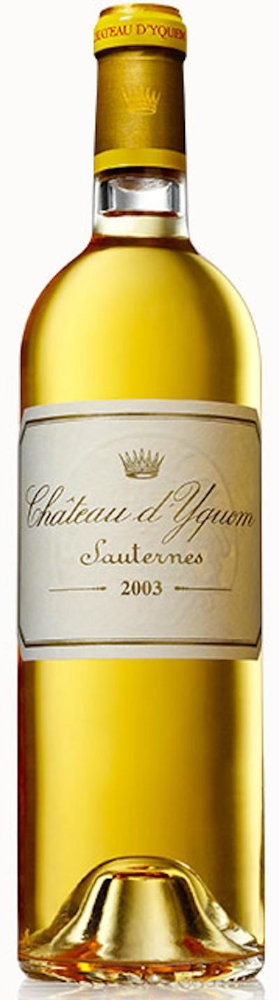 Chateau d'Yquem - Sauternes 1. GCC, 2003