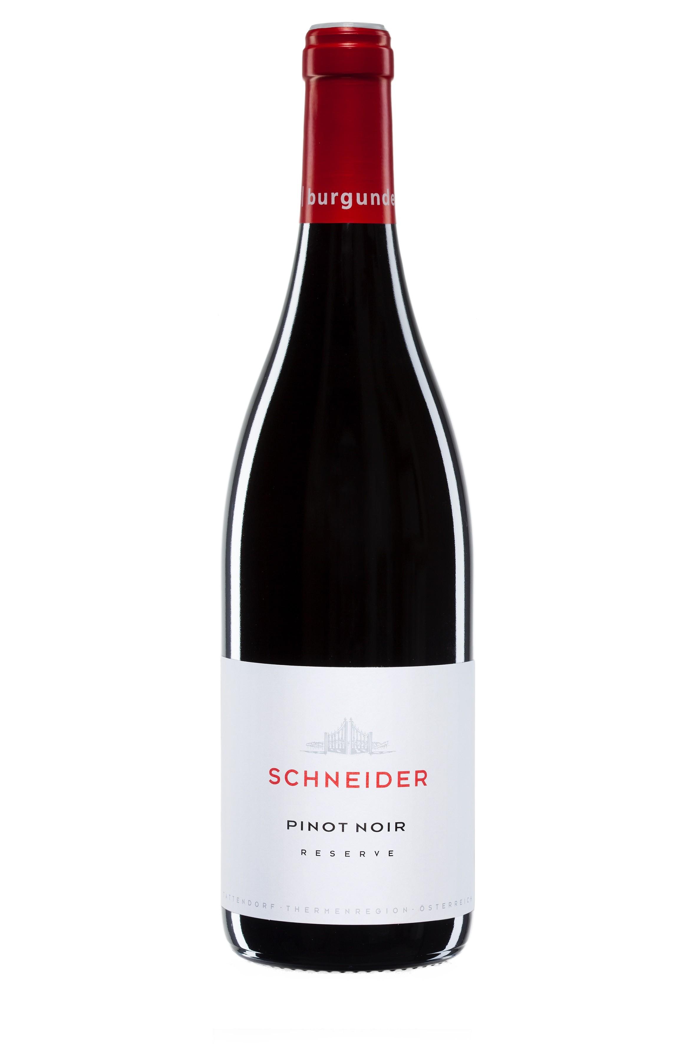 Schneider - Pinot Noir Reserve, 2011