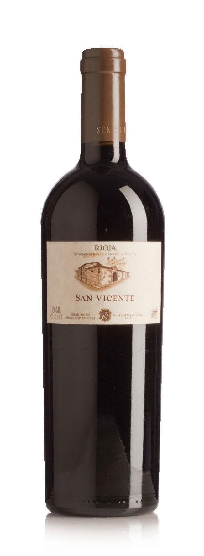 SEÑORÍO DE SAN VICENTE Rioja Single Vineyard, 2015