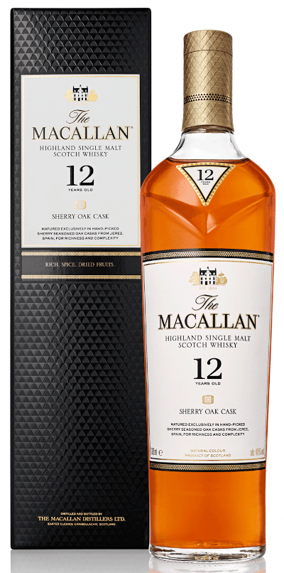 The Macallan - Sherry Oak 12 years Speyside Single Malt Scotch Whisky