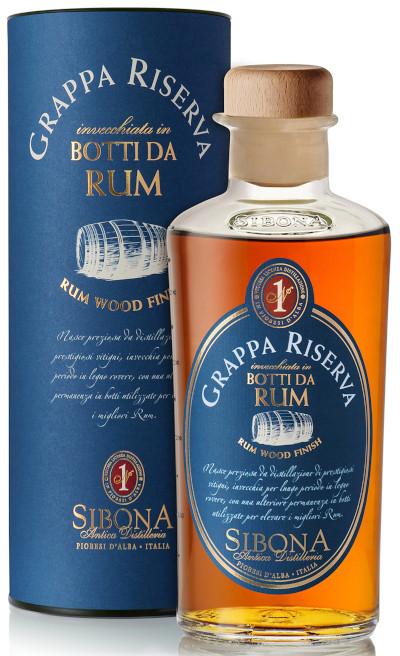 Sibona - Grappa Riserva Botti da Rum