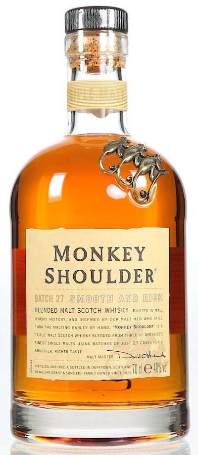 Monkey Shoulder - Blended Malt Scotch Whisky
