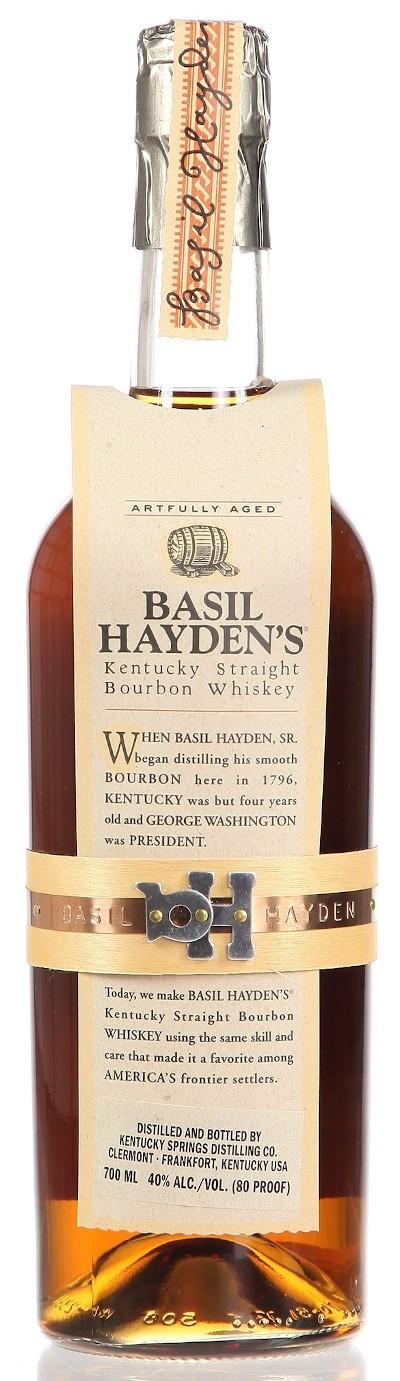 Basil Hayend's - Small Batch Kentucky Straight Bourbon Whiskey