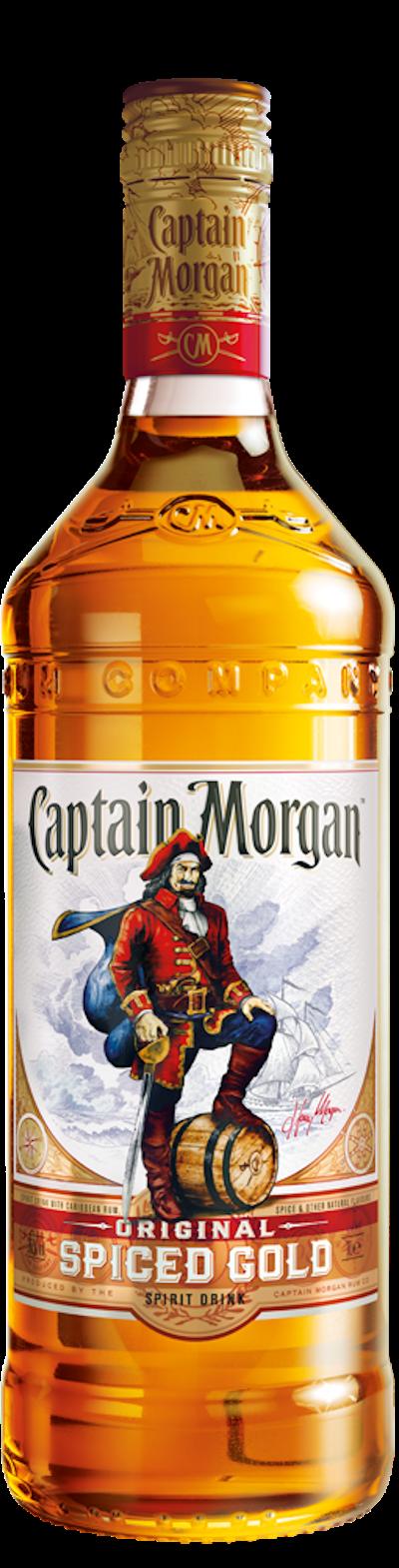 Captain Morgan - Spiced Gold Rum
