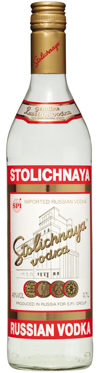 Stolichnaya - Vodka Großflasche