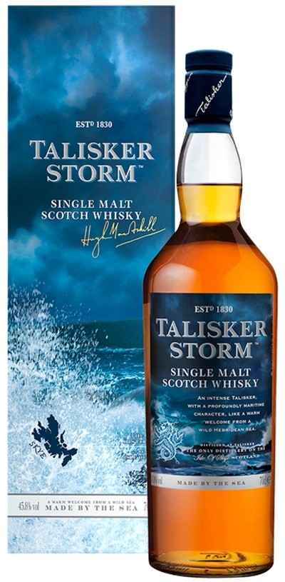 Talisker - Storm Isle of Skye Single Malt Scotch Whisky