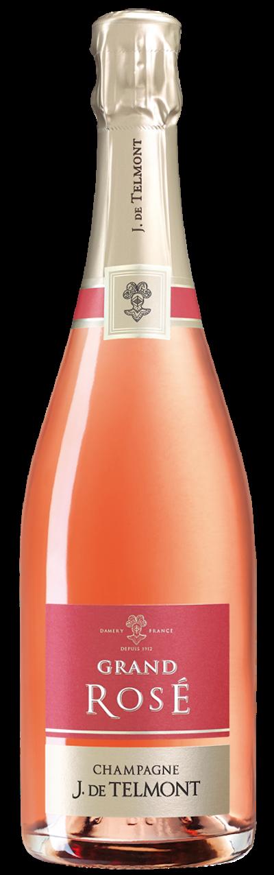 J.de Telmont - Brut Grand Rosé