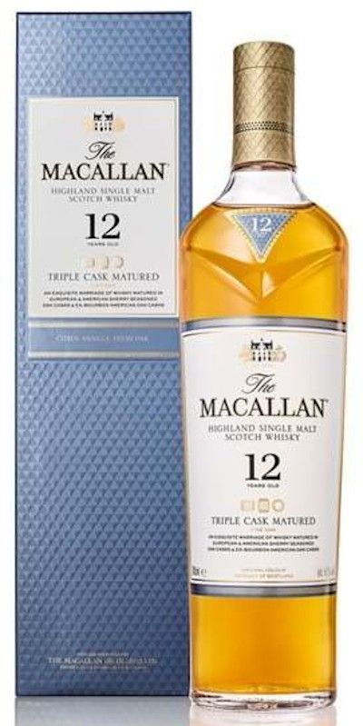 The Macallan - 12 years old triple cask Fine Oak Highland Single Malt Scotch Whisky