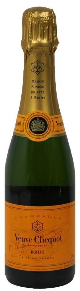 Veuve Clicquot - Brut Halbflasche