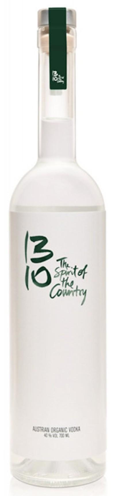 1310 - Pure Austrian Organic Vodka bio