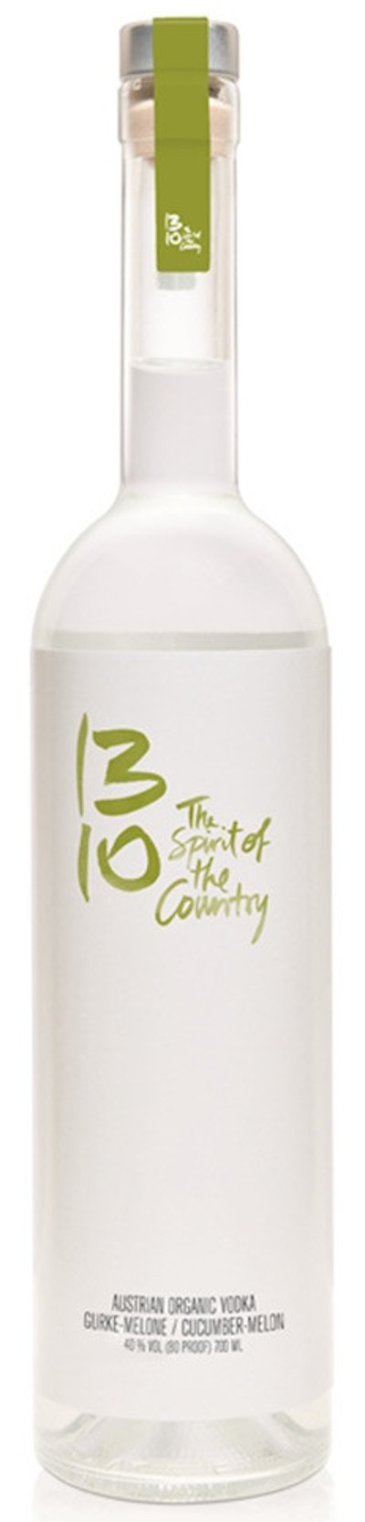 1310 - Austrian Organic Vodka Gurke-Melone bio