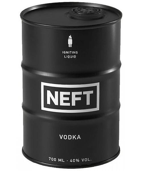 Neft - Black Barrel Vodka
