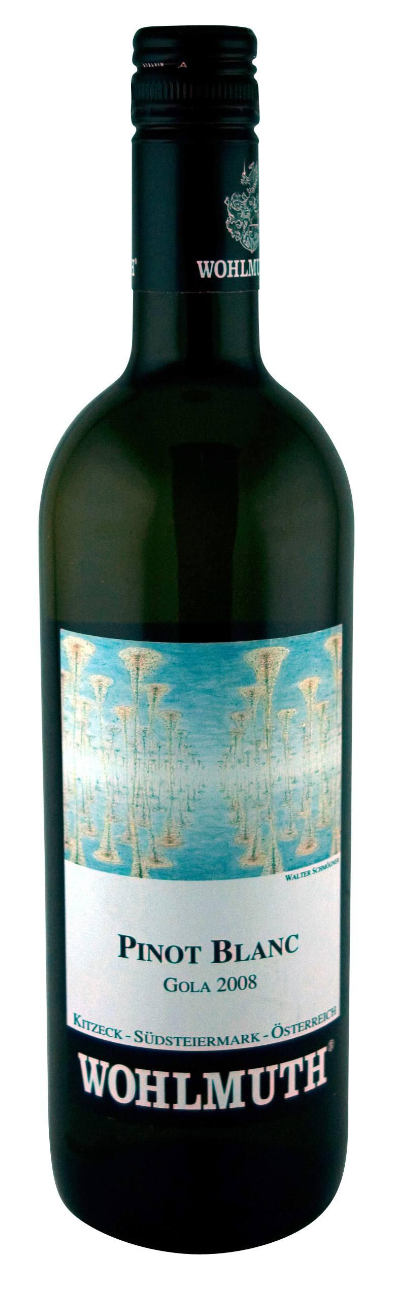 Wohlmuth - Pinot Blanc Gola, 2015