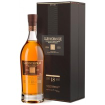 Glenmorangie - 18 years Highland Single Malt Scotch Whisky im Geschenkkarton