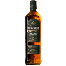 Bushmills - 10 years Irish Single Malt Whiskey