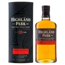 Highland Park - 18 years Orkney Island Single Malt