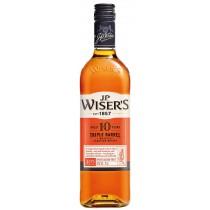 J.P. Wiser's - 10 year Triple Barrel Canadian Whisky