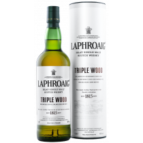 Laphroaig - Triple Wood Islay Single Malt Scotch Whisky im Geschenkkarton