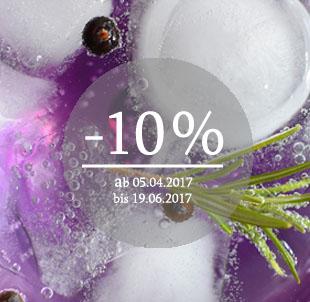 Gin Aktion 10 %